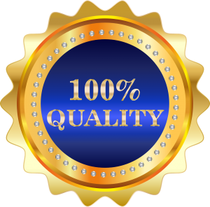 Bookkeeping Services 100% Quality Guarantee Badge